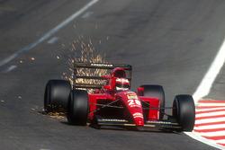 Funkenflug: Jean Alesi. Ferrari 643