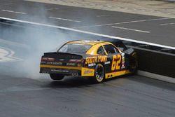 Brendan Gaughan, Richard Childress Racing Chevrolet crash