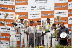 Podium: 1. #1 Montaplast by Land-Motorsport, Audi R8 LMS: Connor De Phillippi, Christopher Mies, 2. #20 Mercedes-AMG Team Zakspeed, Mercedes-AMG GT3: Yelmer Buurman, Nicolai Sylvest, 3. #48 Mercedes-AMG Team HTP Motorsport, Mercedes-AMG GT3: Indy Dontje, Marvin Kirchhöfer