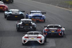 #93 RealTime Racing Acura NSX GT3: Peter Kox, #43 RealTime Racing Acura NSX GT3: Ryan Eversley