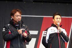 脇阪寿一と中嶋一貴(Juichi Wakisaka & Kazuki Nakajima)