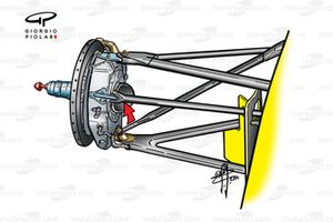 Jordan EJ10 front brake assembly (Qualifying)