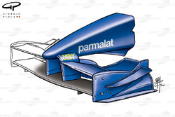 Prost AP04 front wing