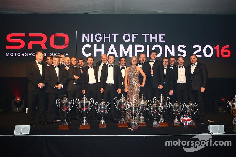 Noche de campeones