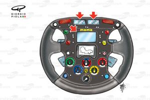 Ferrari F1-2000 (651) 2000 steering wheel