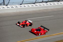 Ferrari 333SP and Ferrari F2001B