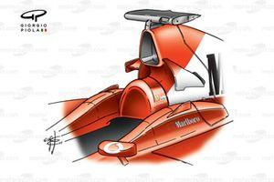 Ferrari F2002 (653) 2002 airbox