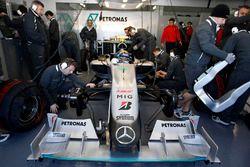 Nico Rosberg, Mercedes AMG F1 ile ilk test - Valencia 2010