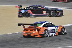 #54 CORE autosport Porsche 911 GT3R: Jon Bennett, Colin Braun, #24 BMW Team RLL BMW M6 GTLM: John Ed