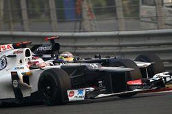 Kamui Kobayashi, Sauber C31, Pastor Maldonado, Williams FW34