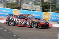 #017 Case.It Racing, Porsche Cayman GT4 Clubsport MR: Adam Merzon