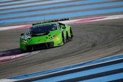 #63 GRT Grasser Racing Team, Lamborghini Huracan GT3: Andrea Caldarelli, Raffaele Gianmaria