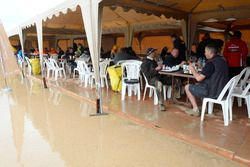Ambiance in the bivouac