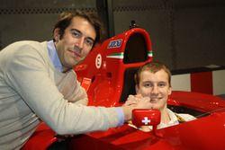 Giacomo Ricci, Kevin Joerg, Ferrari 412 T1