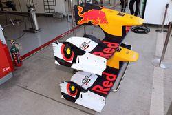 Fronflügel am Super Formula Auto von Pierre Gasly, Team Mugen