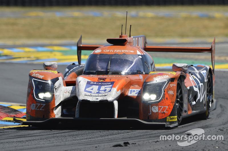 Марк Паттерсон (Algarve Pro Racing №45, LMP2) – 15-е место в LMP2 и 32-е в абсолюте