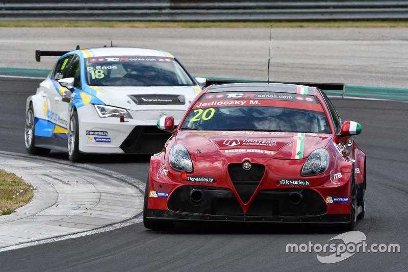 Márk Jedlóczky, Unicorse Team, Alfa Romeo Giulietta TCR