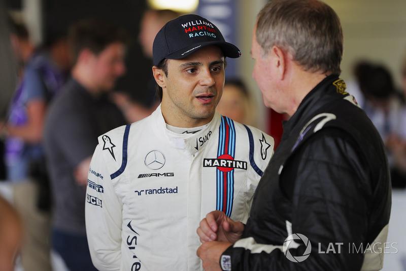 Felipe Massa, Martin Brundle