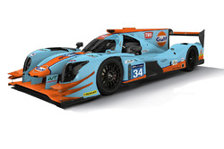 Tockwith Motorsports Gulf livery