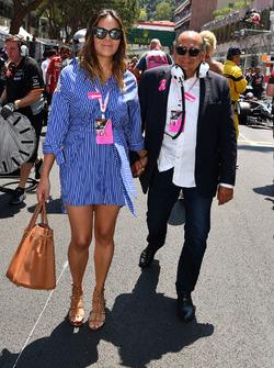 Antonio Perez Garibay, Father of Sergio Perez, and Paola Perez