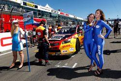 Chica de la parrilla de Tom Coronel, Roal Motorsport, Chevrolet RML Cruze TC1