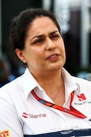 Monisha Kaltenborn, teambaas Sauber
