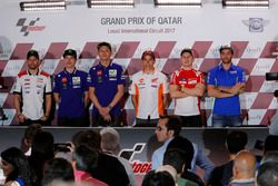 Press conference: Cal Crutchlow, Team LCR Honda; Maverick Viñales, Yamaha Factory Racing; Valentino