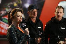 BT Sport TV: Suzi Perry, Colin Edwards, Neil Hodgson