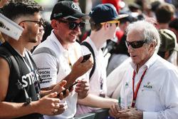 Sir Jackie Stewart rencontre des fans