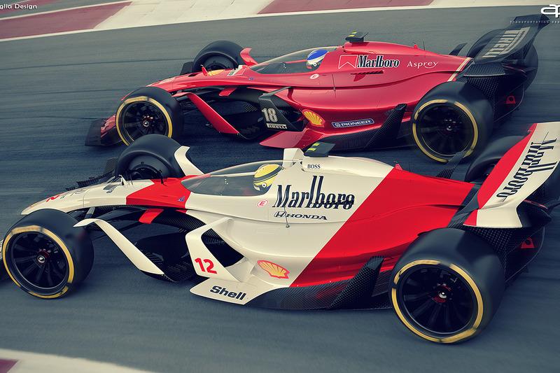 Ferrari e McLaren de 2025
