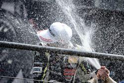 Podium: Race winner Lando Norris, Carlin Dallara F317 - Volkswagen
