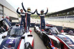 #2 United Autosports, Ligier JS P3 - Nissan: John Falb, Sean Rayhall and #32 United Autosports, Ligi