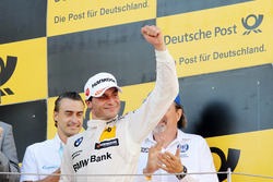 Podio: il terzo classificato Bruno Spengler, BMW Team RBM, BMW M4 DTM