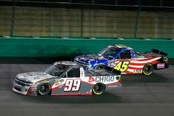 Brandon Jones, CHIGO Chevrolet Silverado and T.J. Bell, Niece Motorsports Chevrolet