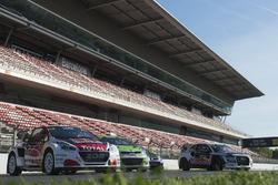 Wagens op start-finish