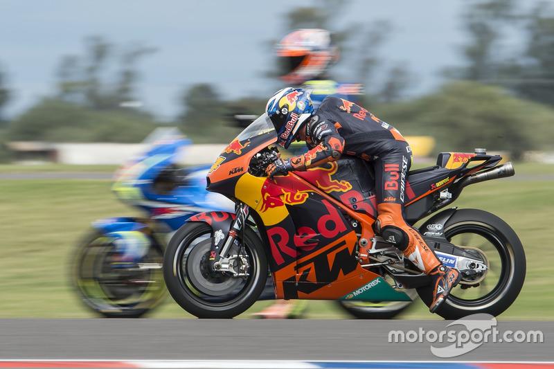Übungsstart: Pol Espargaro, Red Bull KTM Factory Racing