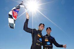 I vincitori della gara Jordan Taylor, Ricky Taylor, Wayne Taylor Racing