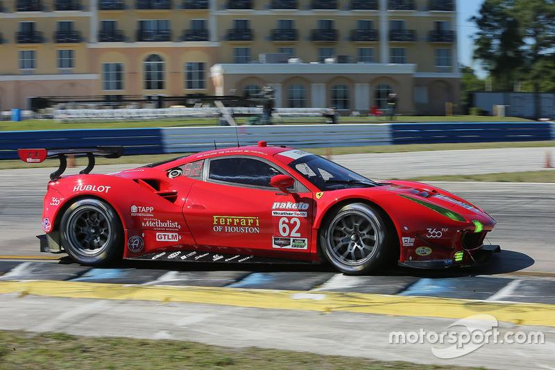 3. GTLM: #62 Risi Competizione, Ferrari 488 GTE