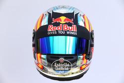 Le casque de Carlos Sainz Jr., Scuderia Toro Rosso STR12