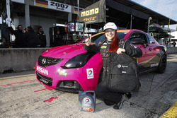 Total pole award winner #44 CRG-I Do Borrow Nissan Altima Coupe: Sarah Cattaneo