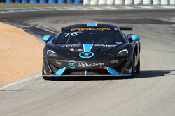#76 Compass360 Racing McLaren GT4: Paul Holton, Matt Plumb