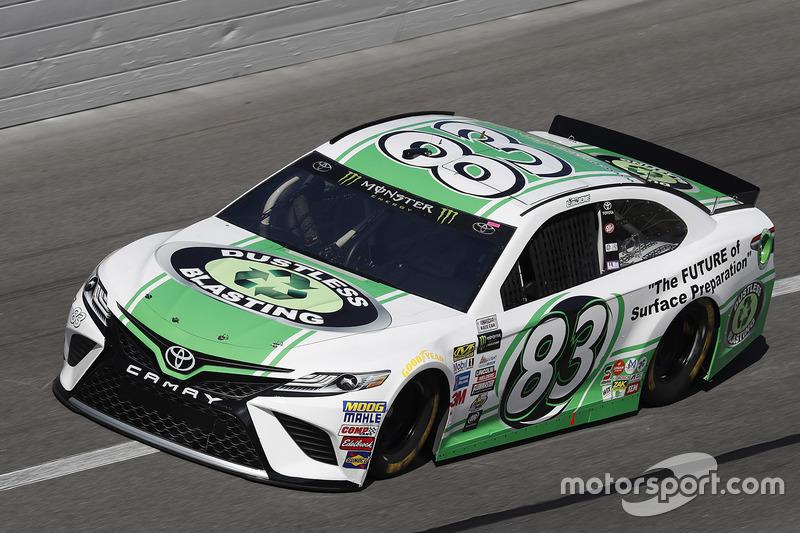 24. Corey LaJoie, BK Racing, Toyota