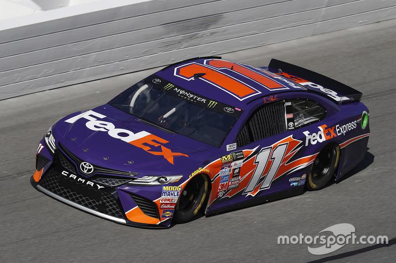 17. Denny Hamlin, Joe Gibbs Racing, Toyota