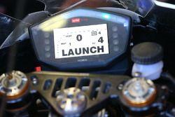 La moto d'Eugene Laverty, Milwaukee Aprilia World Superbike Team