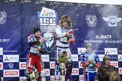 Подиум: победитель Игорь Кононов, второе место - Дмитрий Колтаков, третье место - Дмитрий Хомицевич