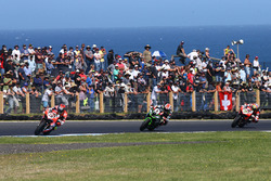 Marco Melandri, Ducati Team, Jonathan Rea, Kawasaki Racing, Chaz Davies, Ducati Team