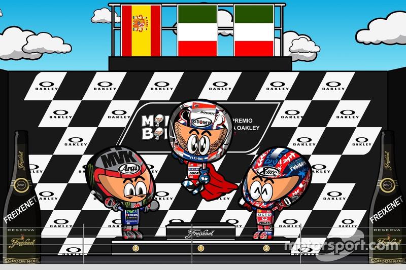 El GP de Italia 2017 de MotoGP según MiniBikers