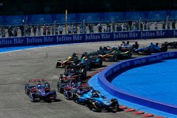 Sébastien Buemi, Renault e.Dams, Jose Maria Lopez, DS Virgin Racing