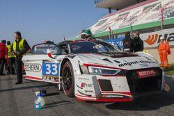 #33 Car Collection Motorsport Audi R8 LMS: G. Tonic, Andreas Ziegler, Johannes Siegler, Peter Schmid