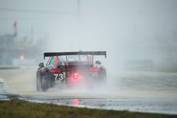 #73 Park Place Motorsports Porsche GT3 R: Patrick Lindsey, Matt McMurry, Jörg Bergmeister stopped on